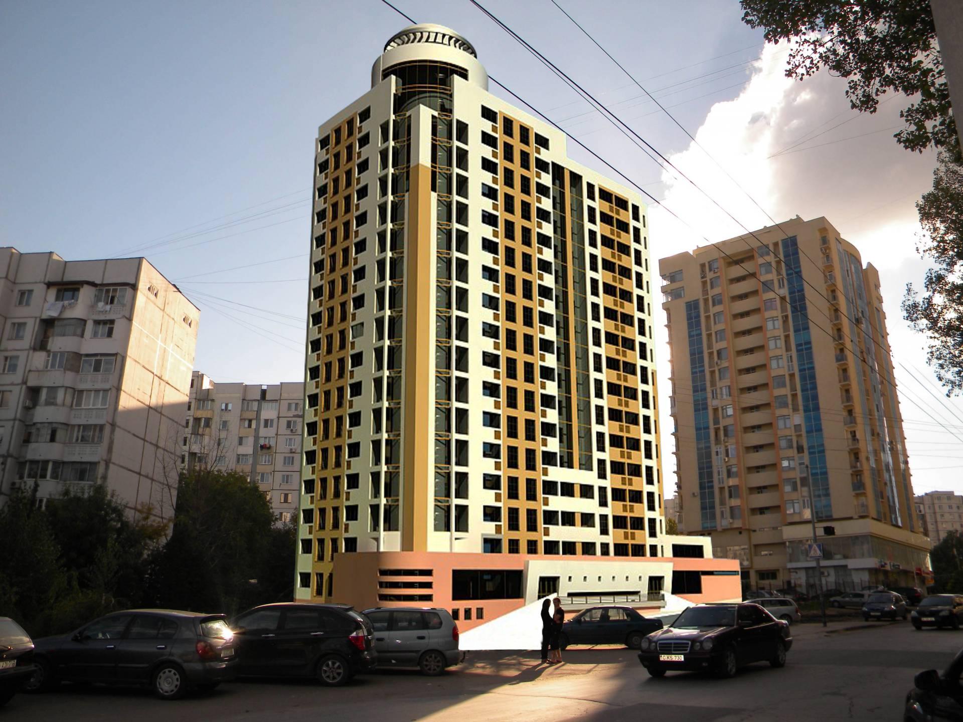 Bulevardul Dacia Residence Botanica-0
