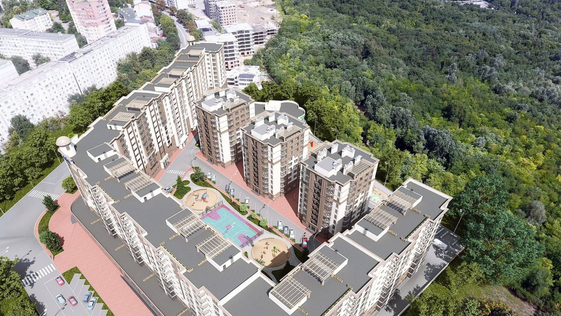 """Complexul Rezidential """"Green Park Residence""""-1"""