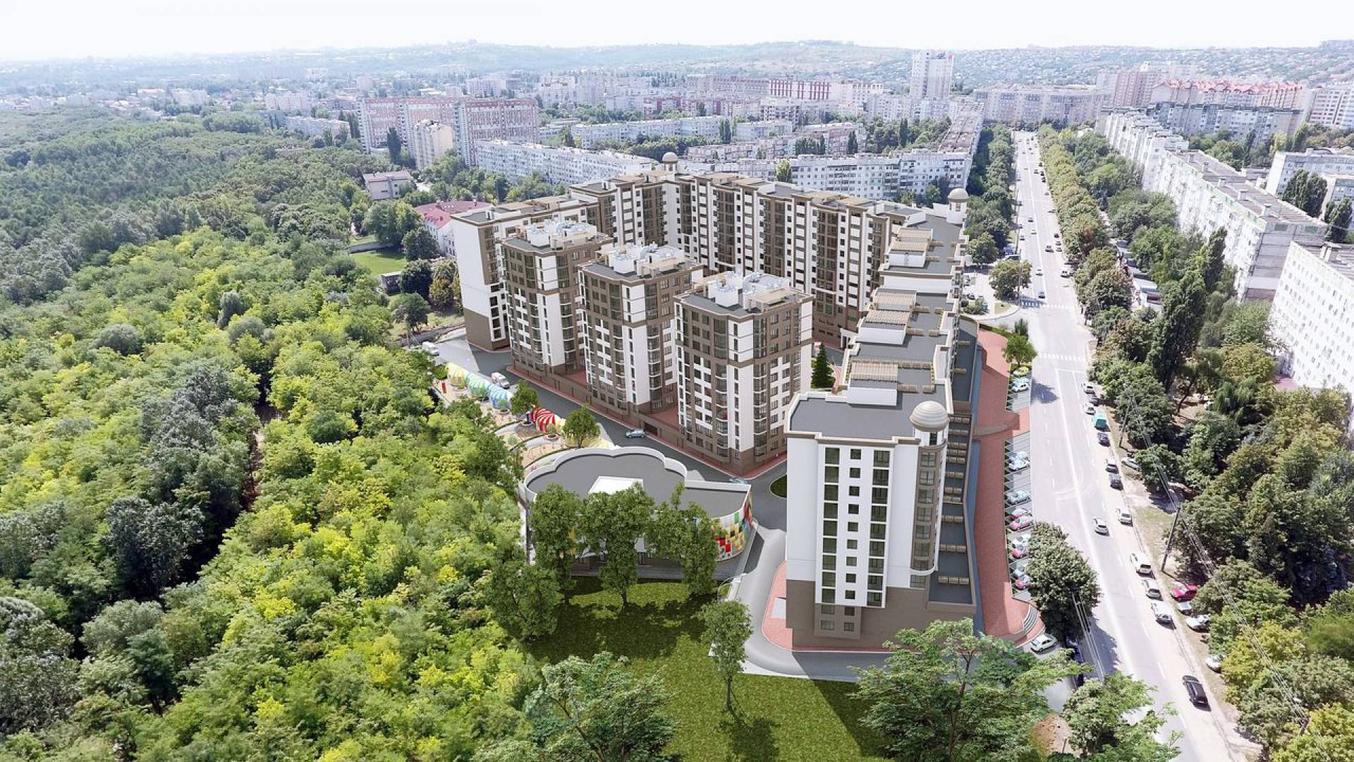 """Complexul Rezidential """"Green Park Residence""""-4"""