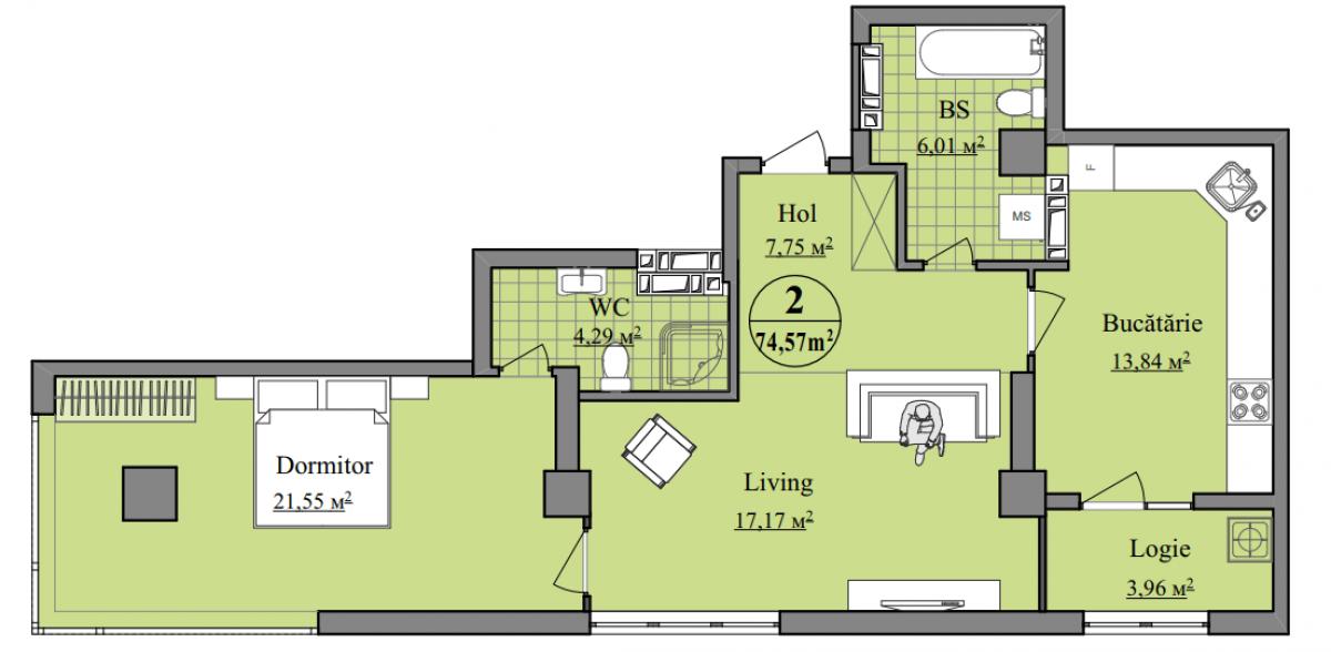 "Complexul locativ ""Basarab Residence""-6"