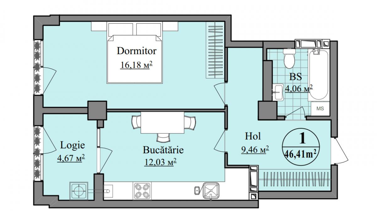 "Complexul locativ ""Basarab Residence""-13"