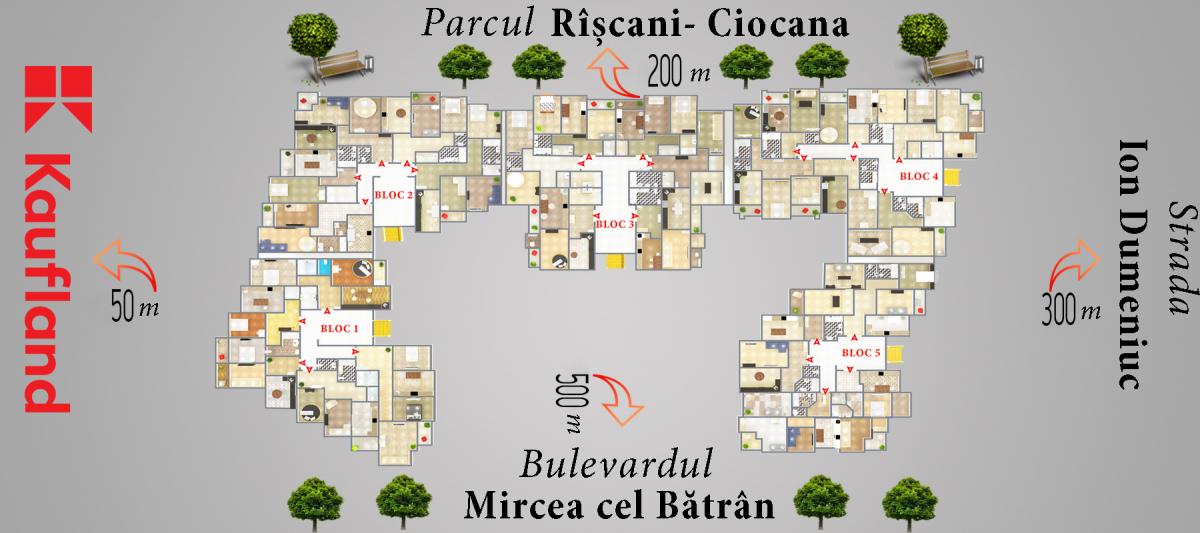 """Complex Locativ """" Mircea cel Bătrîn 31/7""""-2"""